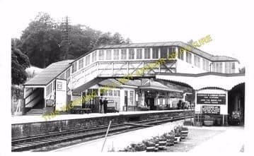 Bodmin Road Railway Station Photo. Doublebois - Lostwithiel. Liskeard to Par (21)