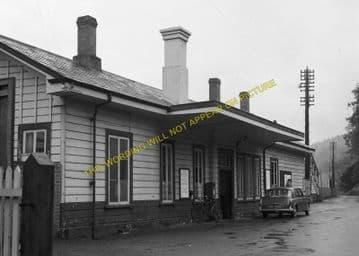 Bodmin Road Railway Station Photo. Doublebois - Lostwithiel. Liskeard to Par (22)