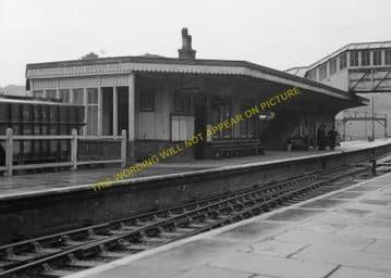 Bodmin Road Railway Station Photo. Doublebois - Lostwithiel. Liskeard to Par (25)