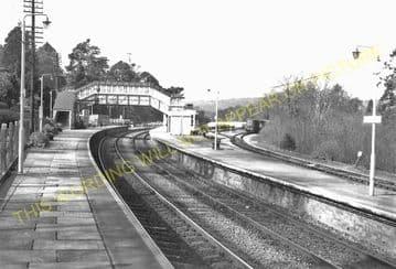 Bodmin Road Railway Station Photo. Doublebois - Lostwithiel. Liskeard to Par (29)