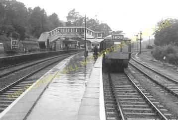 Bodmin Road Railway Station Photo. Doublebois - Lostwithiel. Liskeard to Par (30)