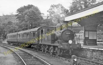 Bodmin Road Railway Station Photo. Doublebois - Lostwithiel. Liskeard to Par (32)