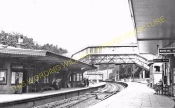 Bodmin Road Railway Station Photo. Doublebois - Lostwithiel. Liskeard to Par (4)