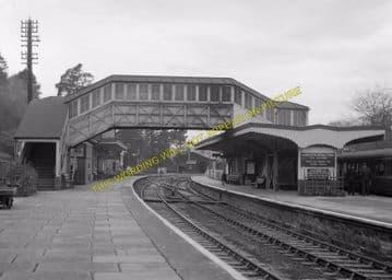 Bodmin Road Railway Station Photo. Doublebois - Lostwithiel. Liskeard to Par (8)