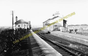 Bodorgan Railway Station Photo. Gaerwen - Rhosneigr. Bangor to Holyhead. LNW (1)..