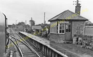 Bodorgan Railway Station Photo. Gaerwen - Rhosneigr. Bangor to Holyhead. LNW (2)