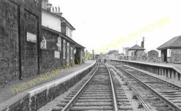 Bodorgan Railway Station Photo. Gaerwen - Rhosneigr. Bangor to Holyhead. LNW (3)