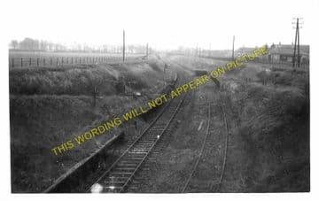 Bogside Railway Station Photo. Saltcoats - Irvine. GSWR. (1)..