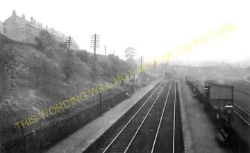 Bogston Railway Station Photo. Port Glasgow - Cartsdyke. Gourock Line. (1).