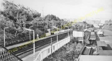 Bogston Railway Station Photo. Port Glasgow - Cartsdyke. Gourock Line. (2).