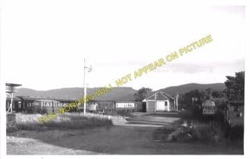 Bonar Bridge Railway Station Photo. Edderton - Culrain. Ardgay. Highland. (10)
