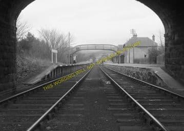 Bonar Bridge Railway Station Photo. Edderton - Culrain. Ardgay. Highland. (13)