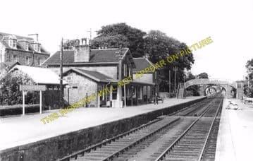 Bonar Bridge Railway Station Photo. Edderton - Culrain. Ardgay. Highland. (3)