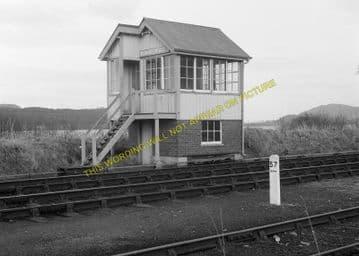 Bonar Bridge Railway Station Photo. Edderton - Culrain. Ardgay. Highland. (7)