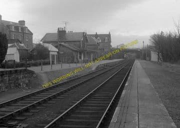 Bonar Bridge Railway Station Photo. Edderton - Culrain. Ardgay. Highland. (8)