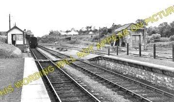 Boncath Railway Station Photo. Crymmych Arms - Kilgerran. Cardigan Line. (2)