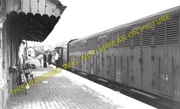 Boncath Railway Station Photo. Crymmych Arms - Kilgerran. Cardigan Line. (3)