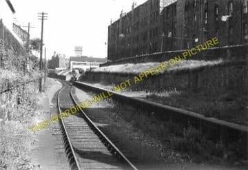 Bonnington Railway Station Photo. North Leith to Powderhall and Trinity. (1)..