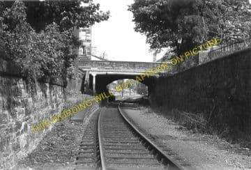 Bonnington Railway Station Photo. North Leith to Powderhall and Trinity. (2)