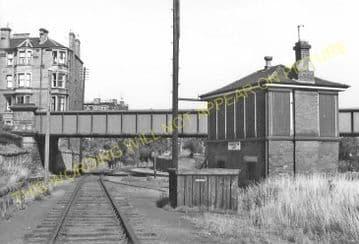 Bonnington Railway Station Photo. North Leith to Powderhall and Trinity. (3)