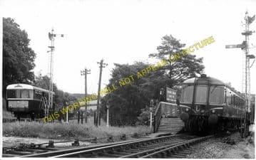 Boscarne Junction Railway Station Photo. Wadebridge - Bodmin. GWR + LSWR. (1)