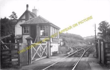 Boscarne Junction Railway Station Photo. Wadebridge - Bodmin. GWR + LSWR. (12)