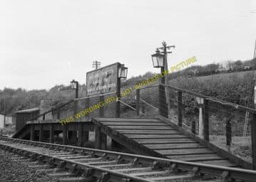 Boscarne Junction Railway Station Photo. Wadebridge - Bodmin. GWR + LSWR. (5)