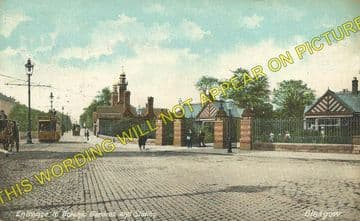 Botanic Gardens Railway Station Photo. Glasgow - Kirklee. Maryhill Line. (2)