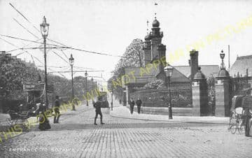 Botanic Gardens Railway Station Photo. Glasgow - Kirklee. Maryhill Line. (4)