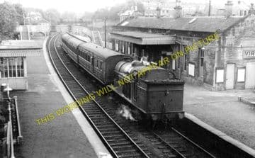 Bothwell Railway Station Photo. Hamilton to Uddingston and Bellshill Lines. (1)..