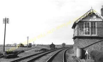Bottesford Railway Station Photo. Sedgebrook - Elton. Grantham to Nottingham (5)