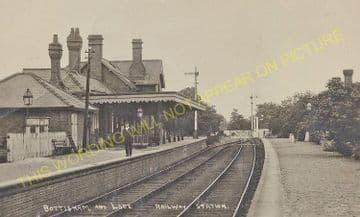 Bottisham & Lode Railway Station Photo. Quy - Swaffham Prior. Cambridge Area (3)