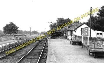 Boughrood & Llyswen Railway Station Photo. Three Cocks Junction - Erwood (2)