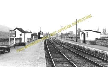 Boughrood & Llyswen Railway Station Photo. Three Cocks Junction - Erwood (3)