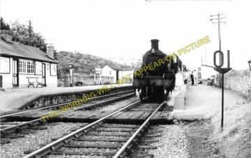 Boughrood & Llyswen Railway Station Photo. Three Cocks Junction - Erwood (4)
