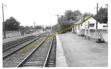 Boughrood & Llyswen Railway Station Photo. Three Cocks Junction - Erwood (6)