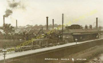 Bournville Railway Station Photo. King's Norton - Selly Oak. Birmingham Line (4)