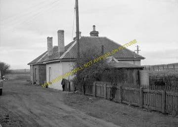 Bower Railway Station Photo. Georgemas - Watten. Thurso to Wick. Highland. (4)