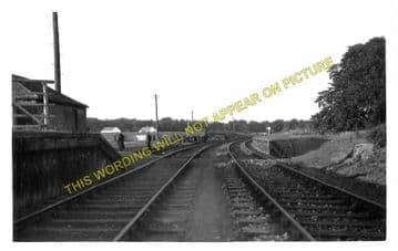 Bowhouse Railway Station Photo. Causewayend - Blackstone. Slamannan Line (1)