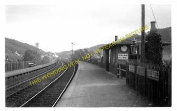 Bowland Railway Station Photo. Galashields - Stow. Fountainhall Line. NBR. (1)