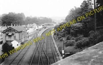 Box Railway Station Photo. Corsham - Bathampton. Chippenham to Bath Line. (1)