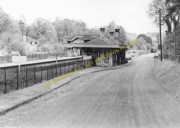 Box Railway Station Photo. Corsham - Bathampton. Chippenham to Bath Line. (5)
