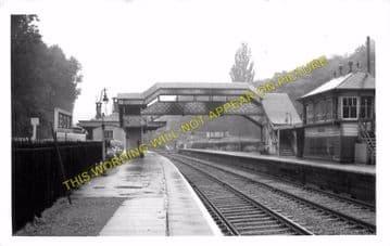 Box Railway Station Photo. Corsham - Bathampton. Chippenham to Bath Line. (7)