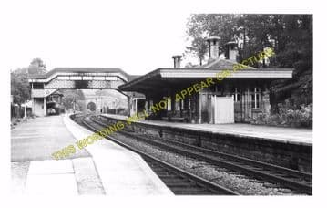 Box Railway Station Photo. Corsham - Bathampton. Chippenham to Bath Line. (8).