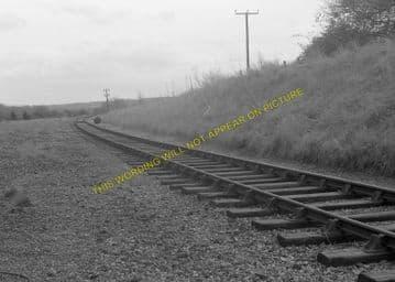 Boxford Railway Station Photo. Stockcross - Welford Park. Lambourn Line. GWR (5)