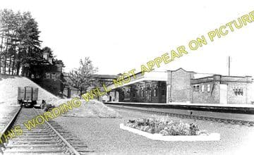 Brackley Central Railway Station Photo. Finmere - Helmdon. Great Central. (1)