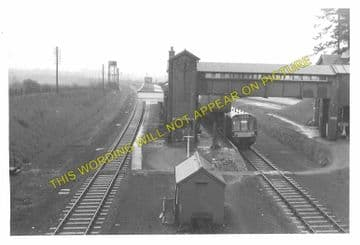 Brackley Central Railway Station Photo. Finmere - Helmdon. Great Central. (15)