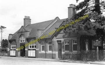 Brackley Central Railway Station Photo. Finmere - Helmdon. Great Central. (2)
