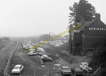 Brackley Central Railway Station Photo. Finmere - Helmdon. Great Central. (9)
