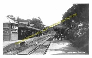 Bracknell Railway Station Photo. Wokingham - Sunningdale. Reading to Ascot. (3)